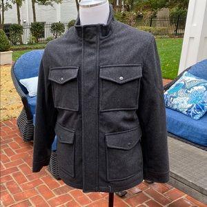 Goodfellow & Co Men's Gray Military Jacket